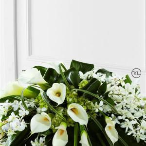 Callay-Lily-and-Orchid-Casket-Spray-2-Funeral-Flowers-London.-300x300