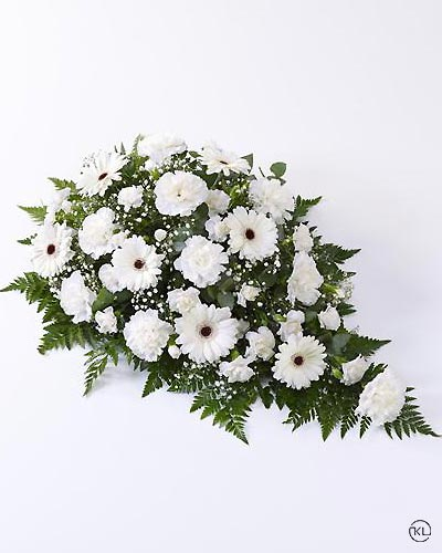 Carnation-and-Germini-Spray-White-1-Funeral-Flowers-London