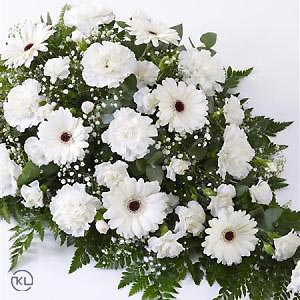 Carnation-and-Germini-Spray-White-2-Funeral-Flowers-London-300x300