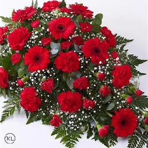 Carnation-and-Germini-Teardrop-Spray-Red-2-Funeral-Flowers-London-300x300