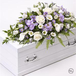 Childrens-Casket-Spray-Blue-and-Lilac-2-Funeral-Flowers-London-300x300