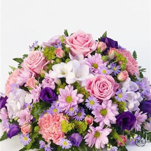 Classic-Lilac-and-Pink-Posy-2-Funeral-Flowers-London