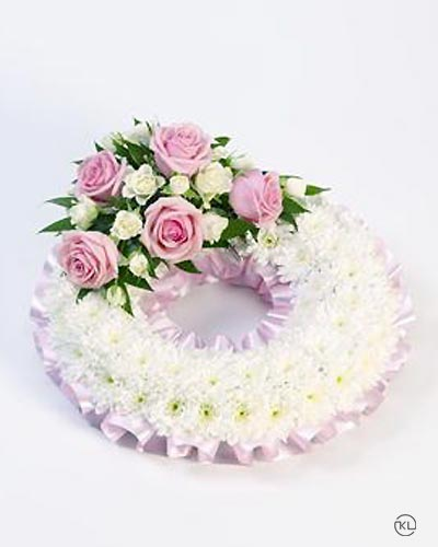 Classic-Pink-Wreath-1-Funeral-Flowers-London-