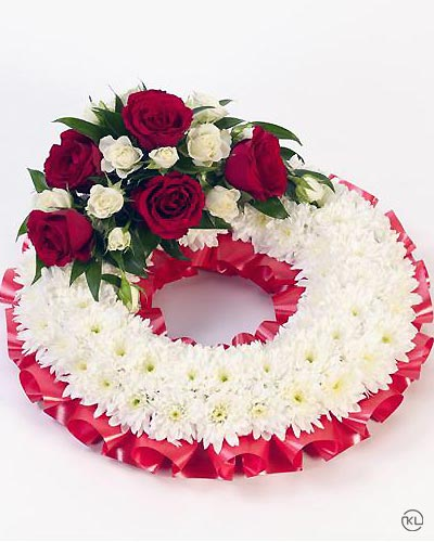Classic-Red-Wreath-2-Funeral-Flowers-London