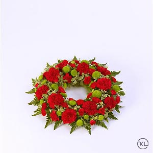 Classic-Selection-Wreath-Red-and-Green-1-Funeral-Flowers-London-300x300