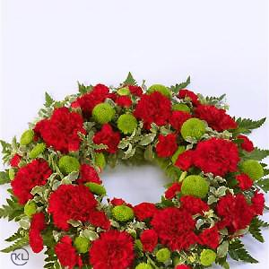 Classic-Selection-Wreath-Red-and-Green-2-Funeral-Flowers-London-300x300