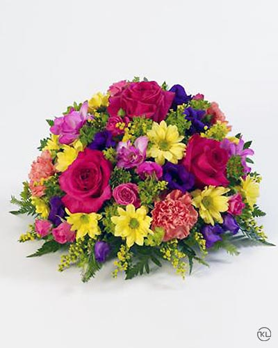 Classic-Vibrant-Posy-1-Funeral-Flowers-London
