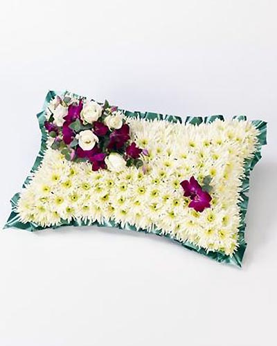 Classic-White-Pillow-1-Funeral-Flowers-London