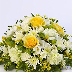 Classic-Yellow-and-White-Posy-2-Funeral-Flowers-London-300x300