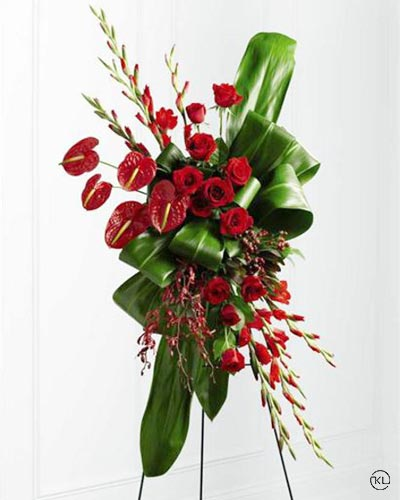 Contemporary-Standing-Spray-1-Funeral-Flowers-London1