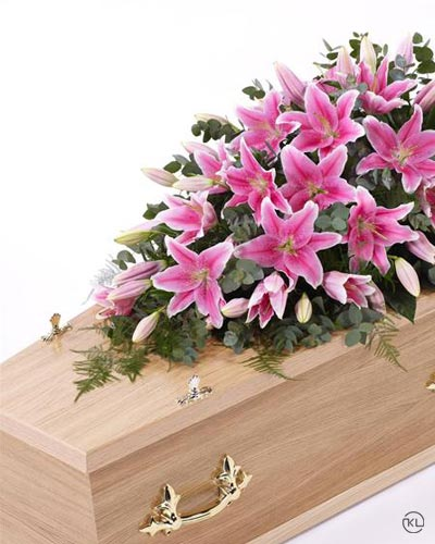 Lily-Casket-Spray-Pink1-4ft-1-Funeral-Flowers-London