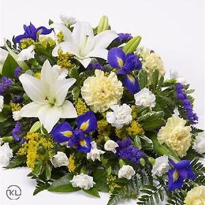 Lily-and-Iris-Teardrop-Spray-2-Funeral-Flowers-London-300x300