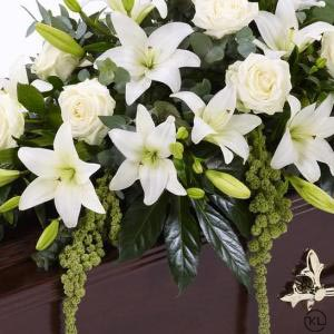 Lily-and-Rose-Casket-Spray-White-4ft-3-Funeral-Flowers-London-300x300