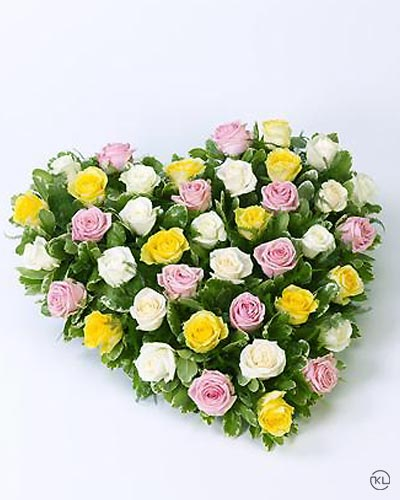 Mixed-Rose-Heart-1-Funeral-Flowers-London