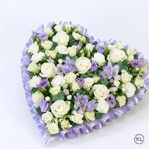 Pastel-Heart-Lilac-and-White-2-Funeral-Flowers-London-300x300