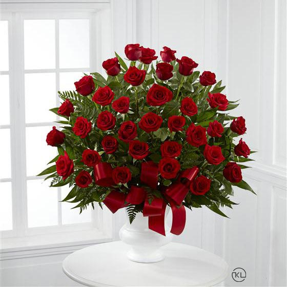Red-Rose-Service-Arrangement-1-Funeral-Flowers-London1