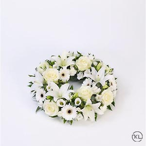 Rose-Lily-White-Wreath-1-Funeral-Flowers-London-300x300