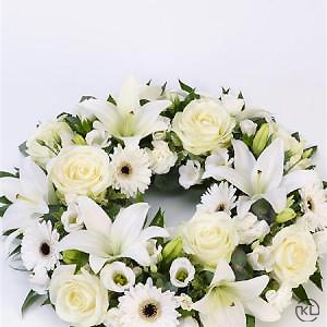 Rose-Lily-White-Wreath-2-Funeral-Flowers-London-300x300