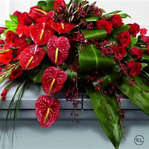 Rose-Orchid-and-Anthurium-Casket-Spray-2-Funeral-Flowers-London-300x300