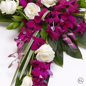 Rose-and-Aspidistra-Cross-3-Funeral-Flowers-London-300x300