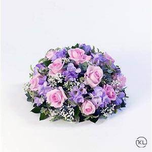 Rose-and-Freesia-Posy-Pink-and-Lilac-1-Funeral-Flowers-London-300x300
