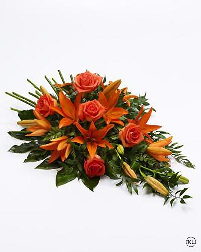Rose-and-Lily-Spray-Orange-1-Funeral-Flowers-London