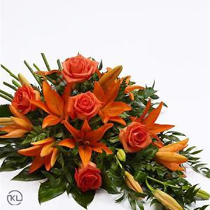 Rose-and-Lily-Spray-Orange-2-Funeral-Flowers-London-300x300