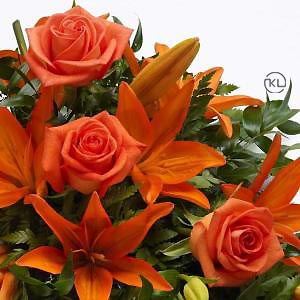 Rose-and-Lily-Spray-Orange-3-Funeral-Flowers-London-300x300
