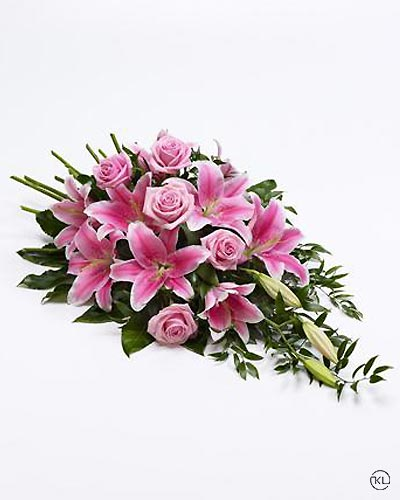 Rose-and-Lily-Spray-Pink-1-Funeral-Flowers-London