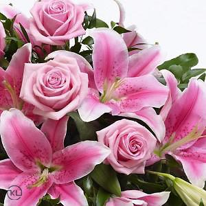 Rose-and-Lily-Spray-Pink-3-Funeral-Flowers-London-300x300