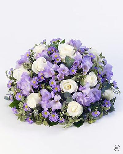 Scented-Posy-Lilac-and-White-1-Funeral-Flowers-London