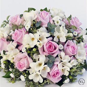 Scented-Posy-Pink-and-White-2-Funeral-Flowers-London-300x300