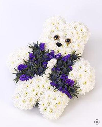 Teddy-Bear-Tribute-Blue-1-Funeral-Flowers-London