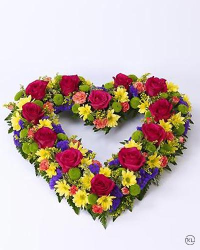 Vibrant-Open-Heart-1-Funeral-Flowers-London