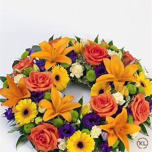 Vibrant-Rose-and-Lily-Wreath-2-Funeral-Flowers-London-300x300