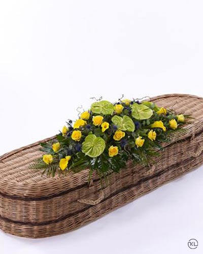 Woodland-Casket-Spray-3ft-1-Funeral-Flowers-London
