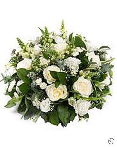 White-Rose-Posy